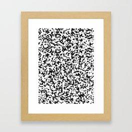 spotted fur Framed Art Print