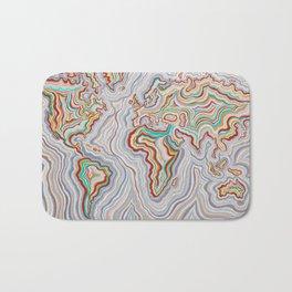 World At Peace Bath Mat