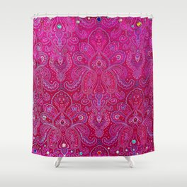 Paisley Jewels Shower Curtain