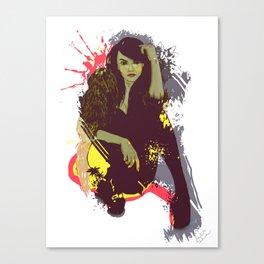 woman K. Canvas Print