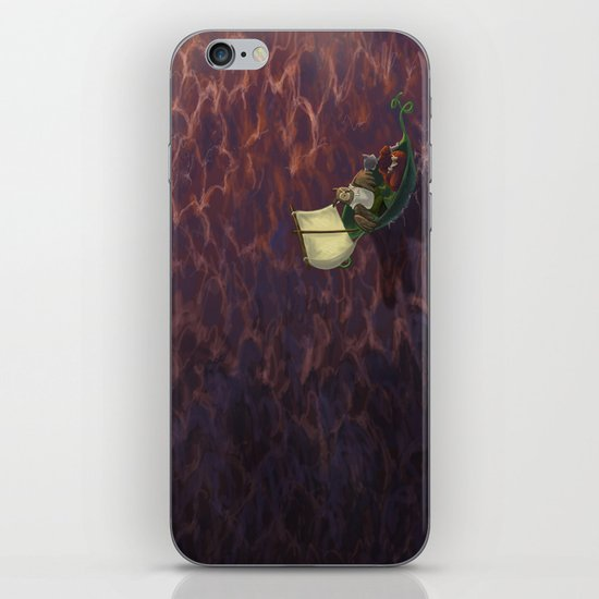 They Went To Sea iPhone & iPod Skin