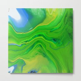 Green River Metal Print