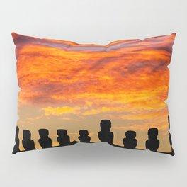 EASTER ISLAND SUNRISE Pillow Sham