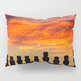 EASTER ISLAND SUNRISE Pillow Sham