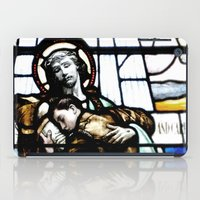 christ iPad Cases featuring Jesus Christ by miss melissa