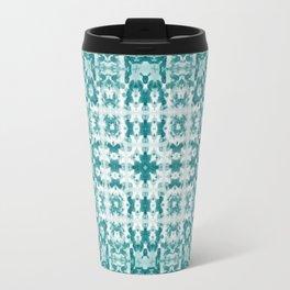 Aquatica Teal Kaleido Travel Mug
