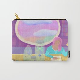 Butterfly Library Carry-All Pouch