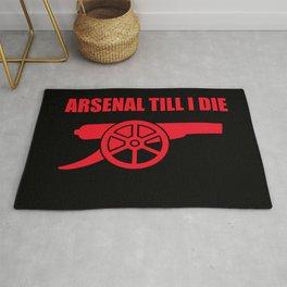 Arsenal Till I Die Rug