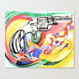 Lonely Gun Canvas Print