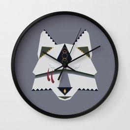Wolf Spirit Wall Clock