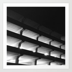 Parking Garage Art Print