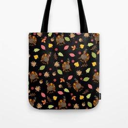 Thanksgiving Turkey pattern Tote Bag