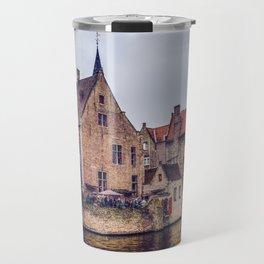 Brugge waterway Travel Mug