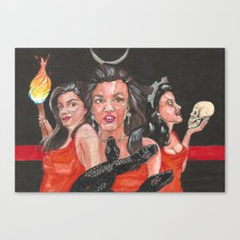 Hekate Thanategos Canvas Print