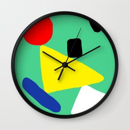 The Balancing Act Wall Clock
