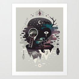 Daemon Art Print
