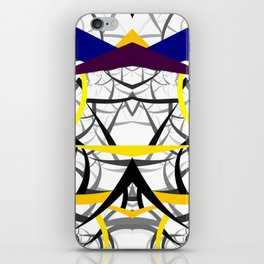 geometric architecture iPhone Skin