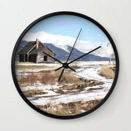 The Old Homestead Wall Clock