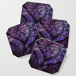 Mystic Tree of Knowledge Purple Coaster