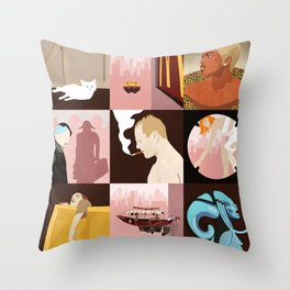 The 5th Element Throw Pillow