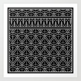 "Art Deco . No. 17 ""mirabelle 2 "" Art Print"