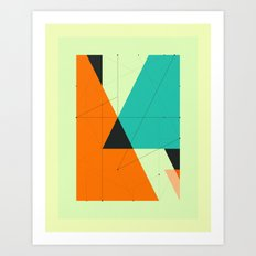 DELINEATION (107) Art Print