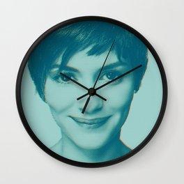 She smiles Wall Clock