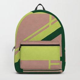 Segmented - Minimalist Geometric Abstract Backpack