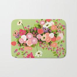 Flowerpower Bath Mat
