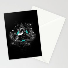 Time & Space Stationery Cards