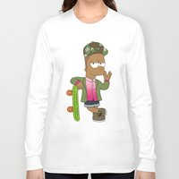 hayley williams Long Sleeve T-shirts featuring Bart Williams by Zhi-Yun