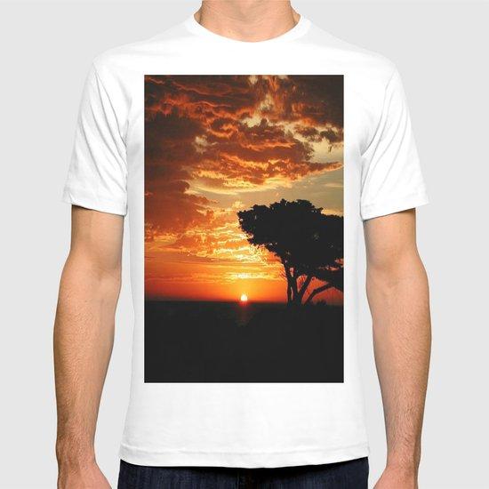 Firey Dragon  T-shirt