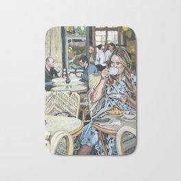 Cafe Life Bath Mat