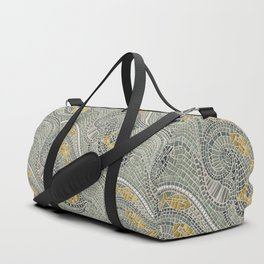 mosaic fish Duffle Bag