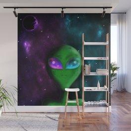 Eyes of the Alien Wall Mural