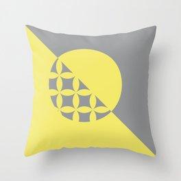 G - O/Metric Take sides Throw Pillow