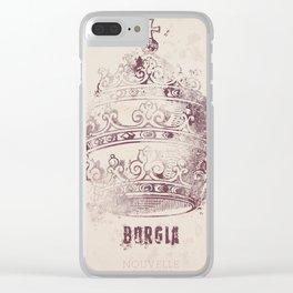 Borgia, tv series, alternative movie Poster, John Doman, Mark Ryder, Isolda Dychauk, Marta Gaslini Clear iPhone Case