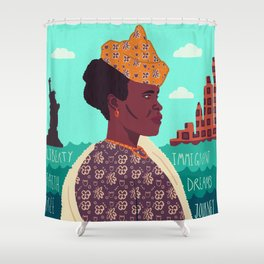 The New World, Immigration Shower Curtain