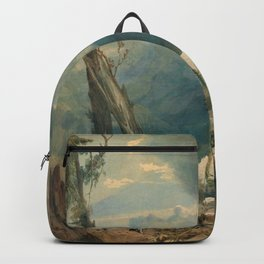 "J.M.W. Turner ""Mer de Glace, in the Valley of Chamouni"" Backpack"
