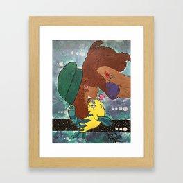 Princess Ariel Framed Art Print