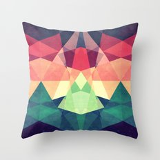 Looking at stars Throw Pillow
