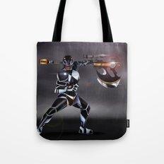 Black Ranger Tote Bag