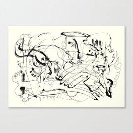 Temptation of Angels Canvas Print