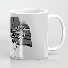 Airport Chairs Grey Coffee Mug