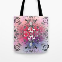 philosophy Tote Bags featuring The Boudoir Philosophy by Antagoniste