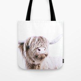 HIGHLAND CATTLE PORTRAIT Tote Bag