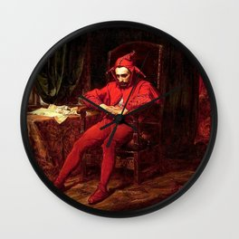 Stanczyk Jan Matejko Wall Clock