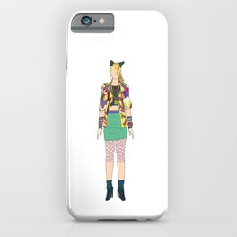 Madge 7 Dress You Up iPhone Case