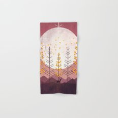 Sunset Mountain Hand & Bath Towel