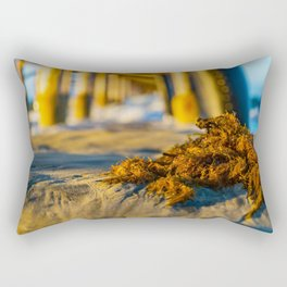 Seaweed at Sunrise Rectangular Pillow
